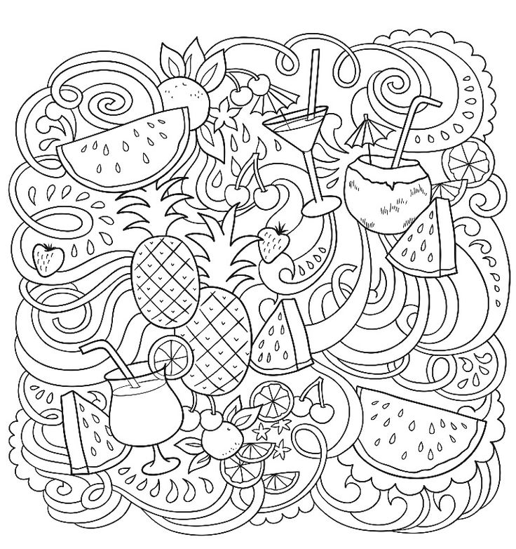 Coloring page from the ColorArt coloring app (With images