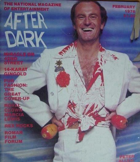 Peter Allen - After Dark Magazine [United States] (February 1978)