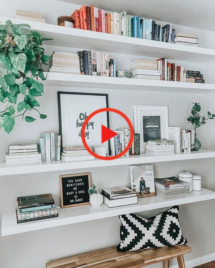 28+ Ikea floating shelves for books inspirations