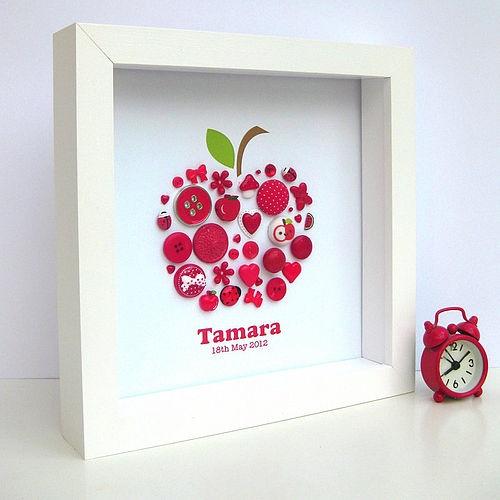 Button Apple - perhaps do as a strawberry?