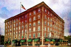 Hawthorne Hotel in Salem Massachusetts... Reported to be haunted