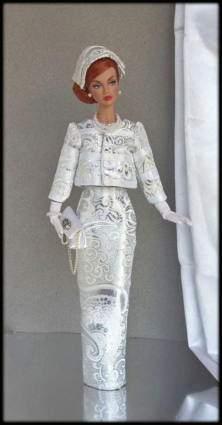 "OOAK Fashions for Silkstone / 12"" Fashion Royalty / Vintage barbie/ Poppy parker   eBay"