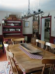 Country Primitive Dining Room - Dining Room Designs - Decorating Ideas ...