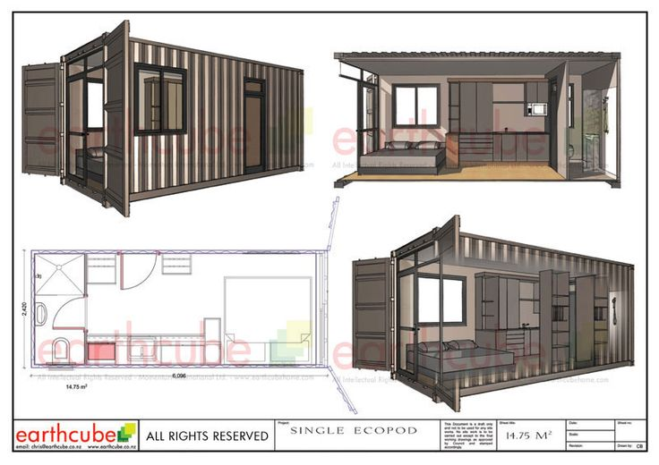 1000 images about shipping container concepts designs completed projects on pinterest - Ecopod container home ...