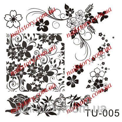 Диск для стемпинга  TU005, фото 1