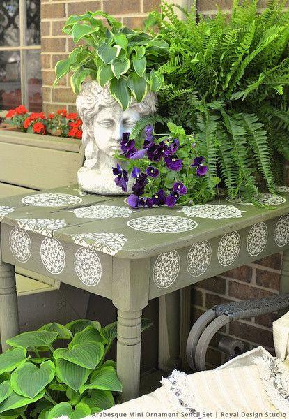 furniture design studios. 11 diy outdoor stencil projects u0026 ideas for summertime fun furniture design studios a
