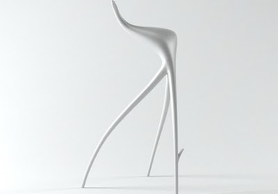 W.W stool by Philippe Stark for director Wim Wenders.