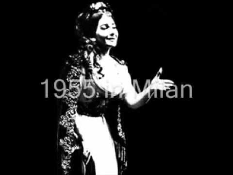 20 best images about la callas on pinterest - Callas casta diva ...