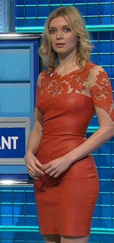 Rachel Riley sexy dress