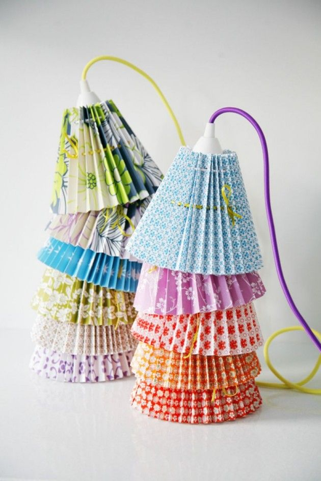 35 Lovely DIY Paper Lamps ...architectureartdesigns.