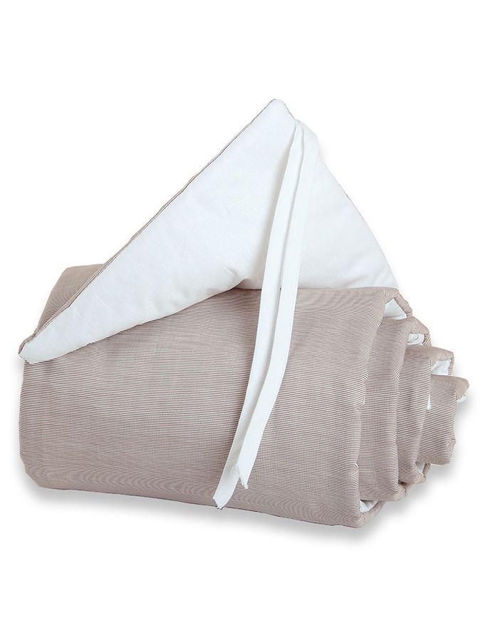 Nestchen BABYBAY® ORIGINAL (144 cm) in braun/weiß