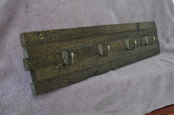Rustic handmade coat hooks by LKWoodenthings on Etsy, $35.00