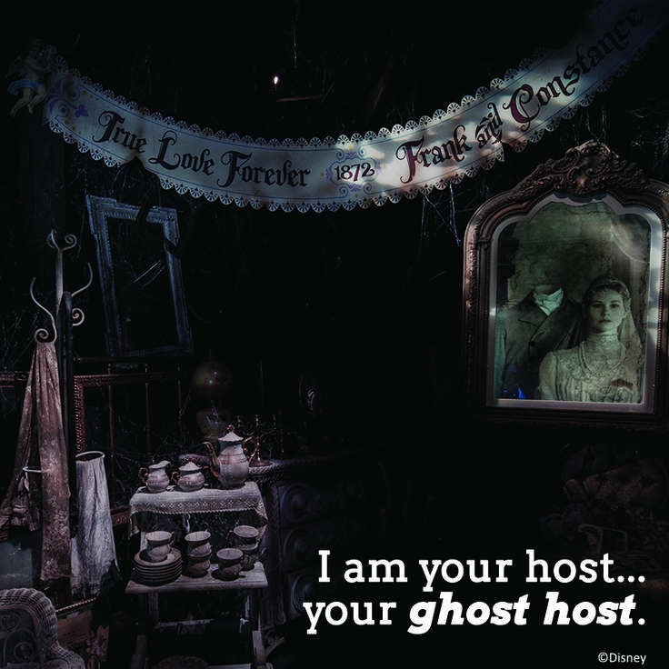 I Am Your Host....your Ghost Host.... #HauntedMansion
