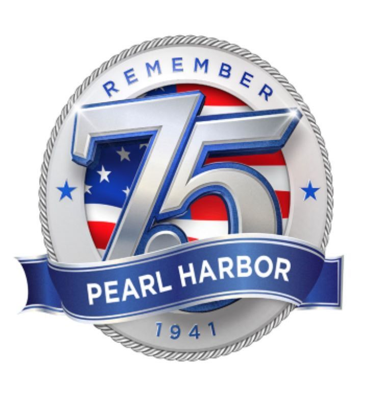 December 7th marks the 75th Anniversary of Pearl Harbor. Remember our  heroes, the fallen and the survivors from this infamous day in 1941.