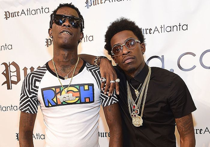 Young Thug disses Rich Hommie Quan at concert after leave!