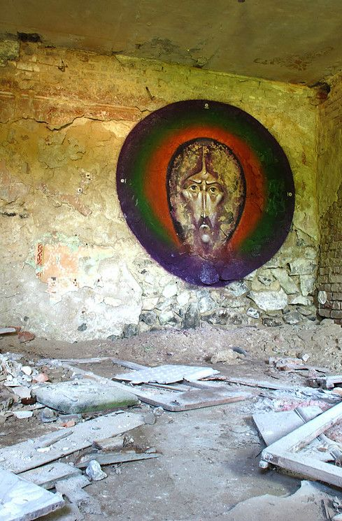 Sergii Radkevych 2011 Holy Face. Lutsk, Ukraine