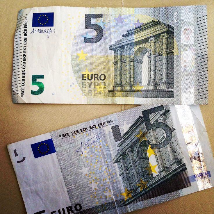 mis billetes de 5 euros (2013)