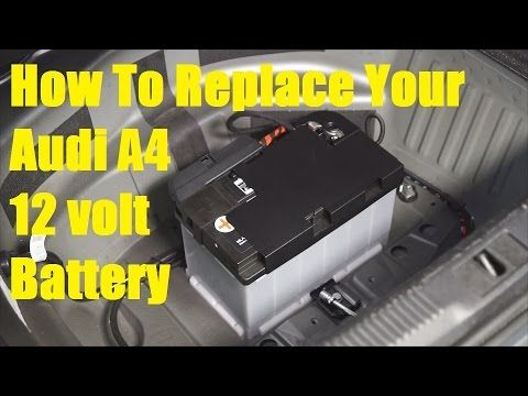 Audi A4 Battery Replacement - The Battery Shop