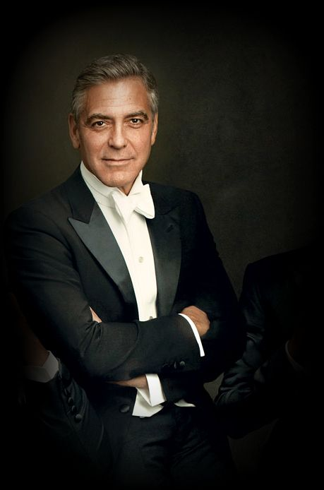 George Clooney for the 20th annual Vanity Fair Hollywood Issue, photographed by Annie Leibovitz.