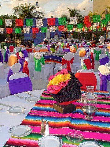 Noche mexicana hc 9 jpg 360 480 holiday mexican for Decoracion kermes mexicana