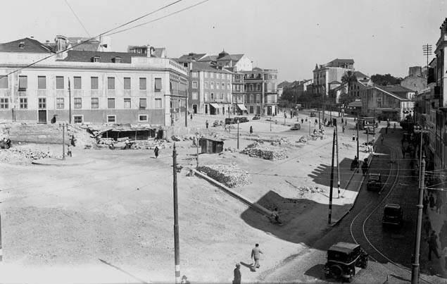 Lisbon - Largo do Rato (1930').