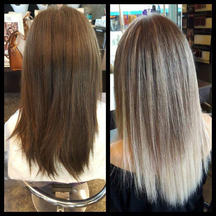 BondUltim8- Matrix  Φτάσαμε το χρώμα των μαλλιών στα όρια του. Balayage με Highlights και την βοήθεια του #BondUltim8 προστατεύουμε τους δεσμούς της τρίχας για το καλύτερο επιθυμητό αποτέλεσμα.  #balayage #highlights #matrix #BondUltim8 #oiepikefalis
