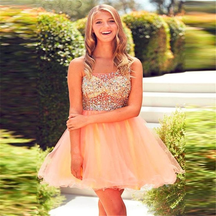 8th Grade Prom Dresses 2016 Vestidos Para Formatura Curto Crystals One Shoulder Homecoming Short Dress