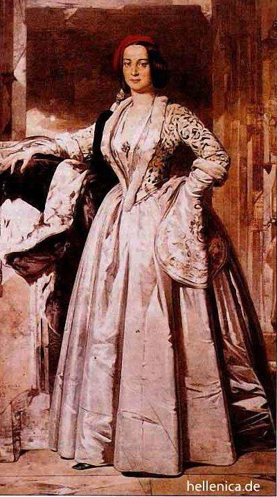 Nikiforos Lytras Queen Amalia. 1893
