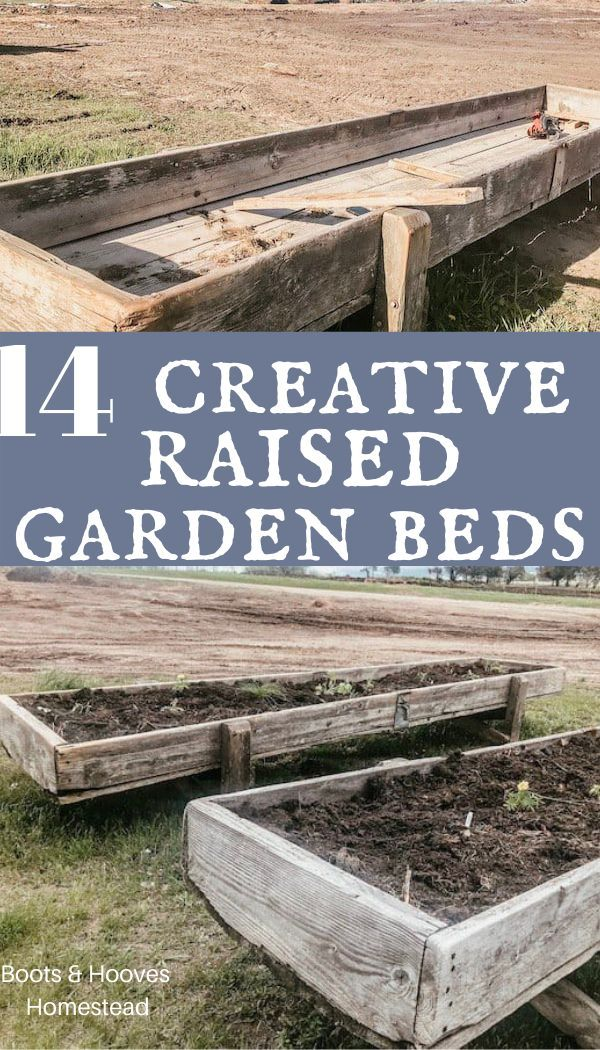 Creative Upcycled Planter Ideas In 2020 Creative Raised Garden Beds Tall Raised Garden Beds Raised Garden Beds