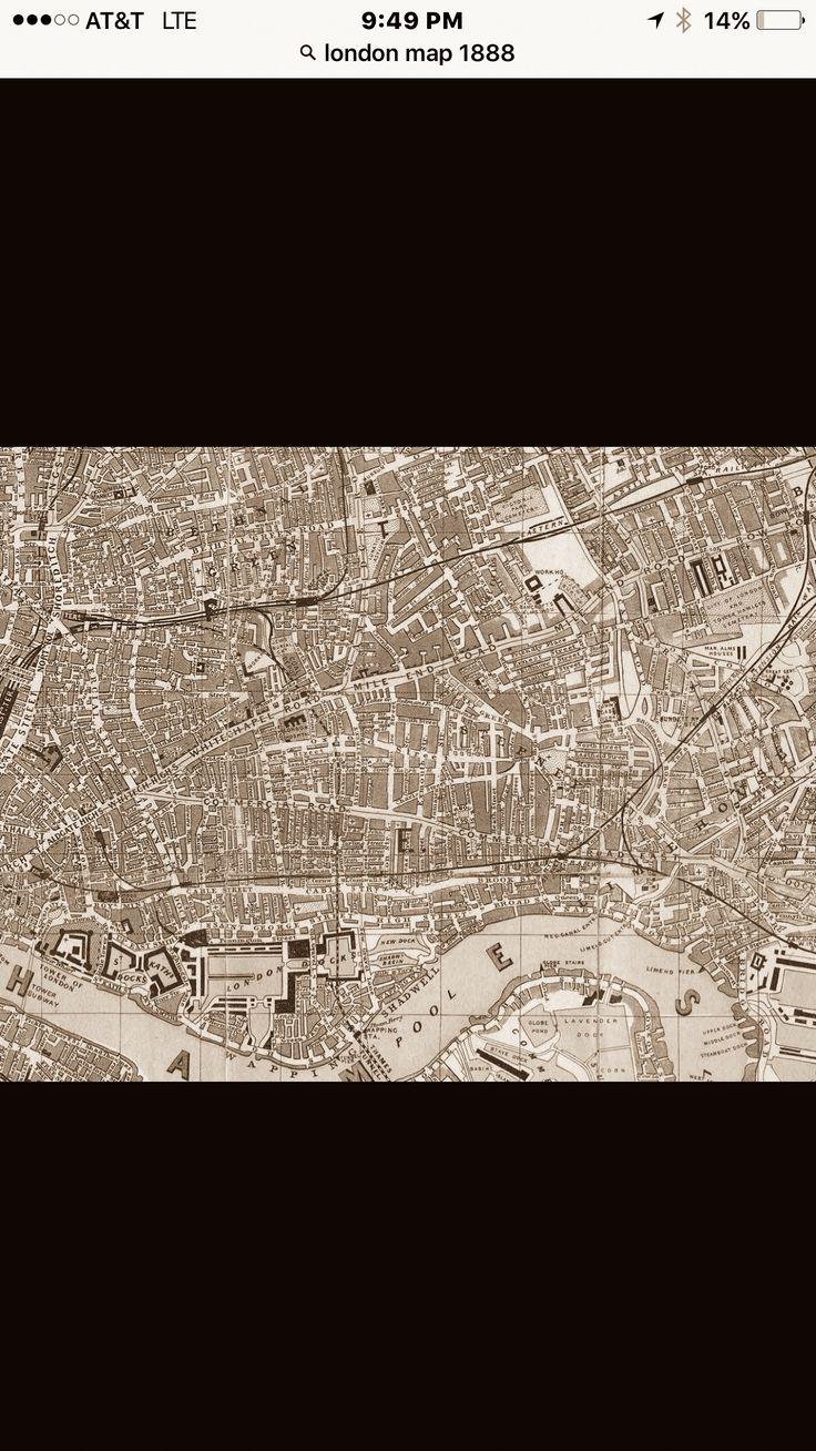 London 32 best Maps images on Pinterest