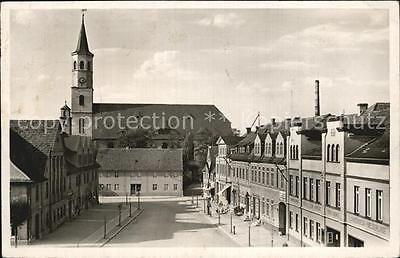 12510006 Rothenburg Schlesien Marktplatz Kirche Rathaus  Czerwiensk