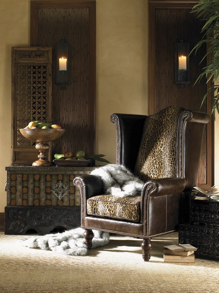 Animal print occasion chair living room decorating ideas for Living room decorating ideas zebra print