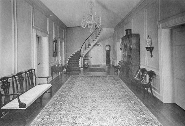 Staircase in Belle Mina plantation house Limestone county, Alabama