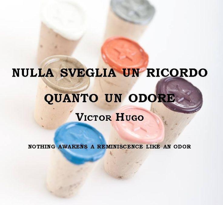 Nulla sveglia un ricordo quanto un odore (Victor Hugo) #victorhugo #perfume #brunoacamporaprofumi