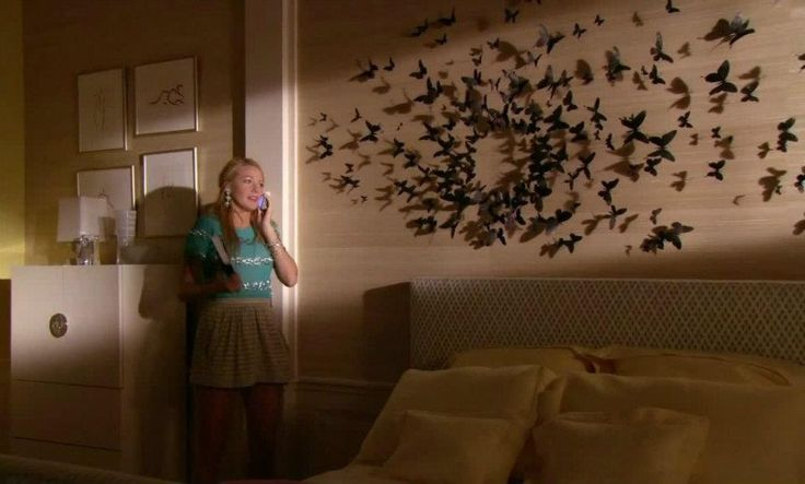Elegant Pixels House Projects Pinterest Gossip With Butterfly Wall Decor Gossip  Girl