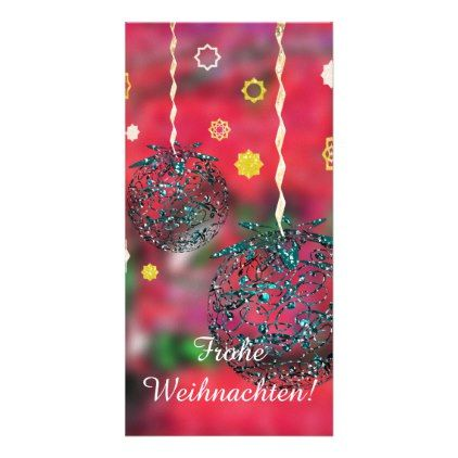 Glad Christmas Card - christmas cards merry xmas family party holidays cyo diy greeting card