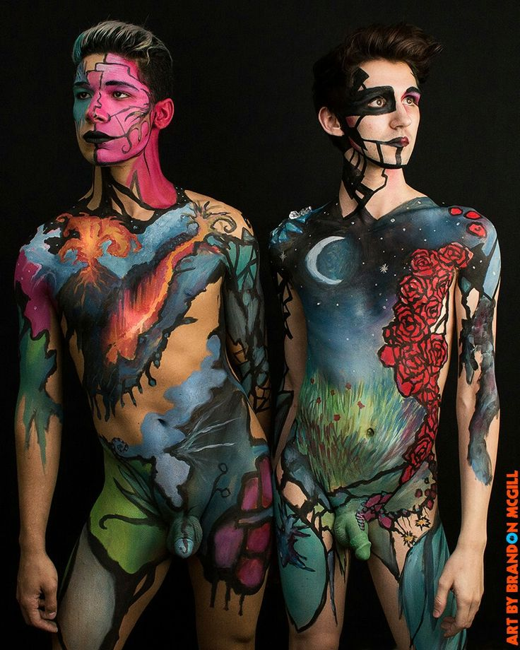 Best Body Paint Images On Pinterest Body Paintings - Artist turns humans amazing animal portraits using body paint