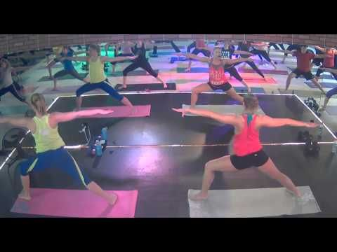 ▶ Bounce Aerobics PiYo Class - YouTube