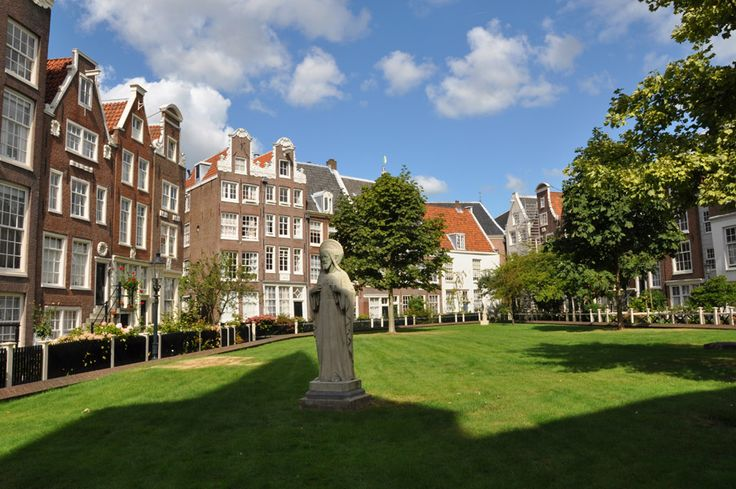 Complejo de casas-monasterio Begijnhof en Amsterdam