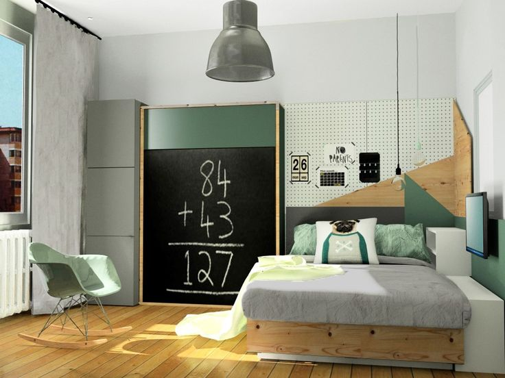 chambre gar on lit et placard ikea lit escamotable image virtuelle 3d chambres d 39 enfants. Black Bedroom Furniture Sets. Home Design Ideas
