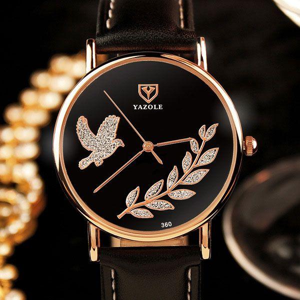 $5.69 (Buy here: https://alitems.com/g/1e8d114494ebda23ff8b16525dc3e8/?i=5&ulp=https%3A%2F%2Fwww.aliexpress.com%2Fitem%2FYAZOLE-2016-Ladies-Watch-Women-Watches-Brand-Famous-Female-Clock-Quartz-Watch-Wrist-Quartz-watch-Montre%2F32702727347.html ) YAZOLE 2017 Ladies Watch Women Watches Brand Famous Female Clock Quartz Watch Wrist Quartz-watch Montre Femme Relogio Feminino for just $5.69