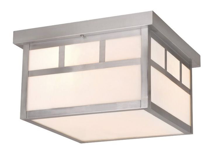 Vaxcel Lighting OF14611ST Mission Transitional Outdoor Flush Mount Ceiling Light VX-OF14611ST