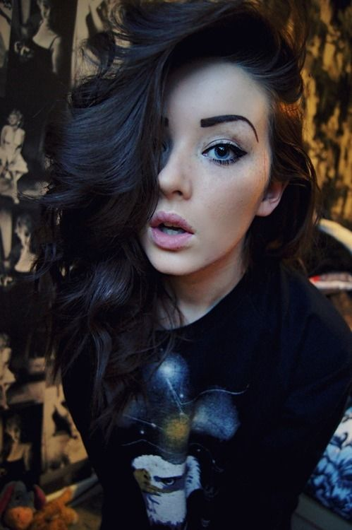 dark brown hair   Tumblr   Every beauty idea a girl should ...