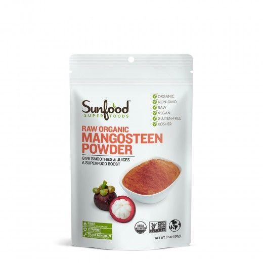 Mangosteen Powder, 100g, ultra-premium grade, raw, sustainably-grown | Sunfood.com