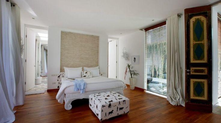 Light and airy bedroom | Pure Luxury Villa Canggu, Bali