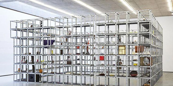 Keith Wilson's modern sculpture 'Calendar'