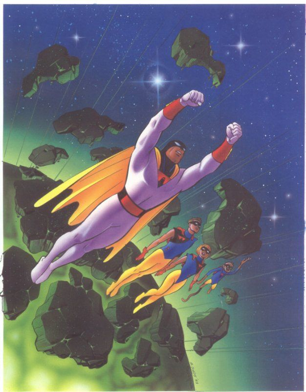 Space Ghost by Steve Rude and Ken Steacy
