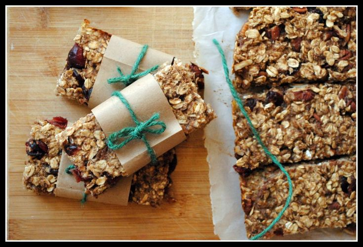 Easy, healthier granola bars!