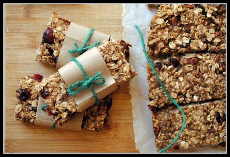 Easy, healthier granola bars!