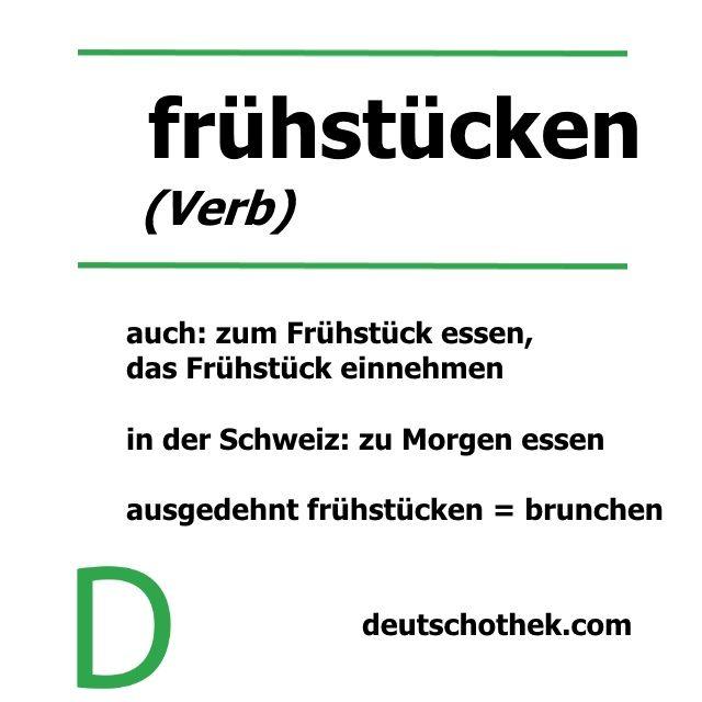 #frühstücken ist unser neues #WortderWoche #wordoftheweek #breakfast #havingvreakfast #Frühstückessen #Frühstück #LearnGerman #GermanSchool  #LanguageSchool #Deutschothek